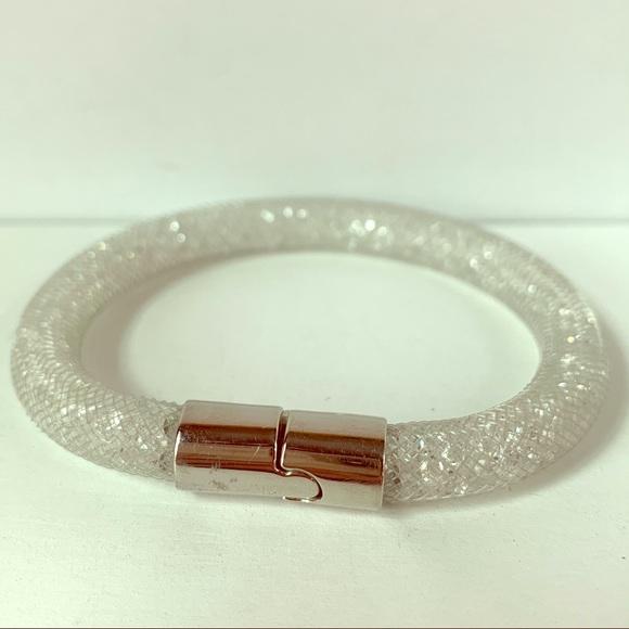 Swarovski Clear Stardust Mesh Bracelet